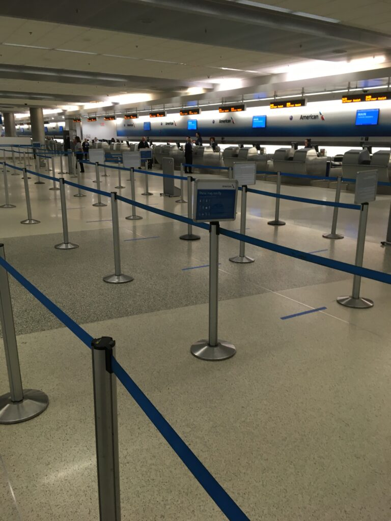 No Lines Airport Check-In