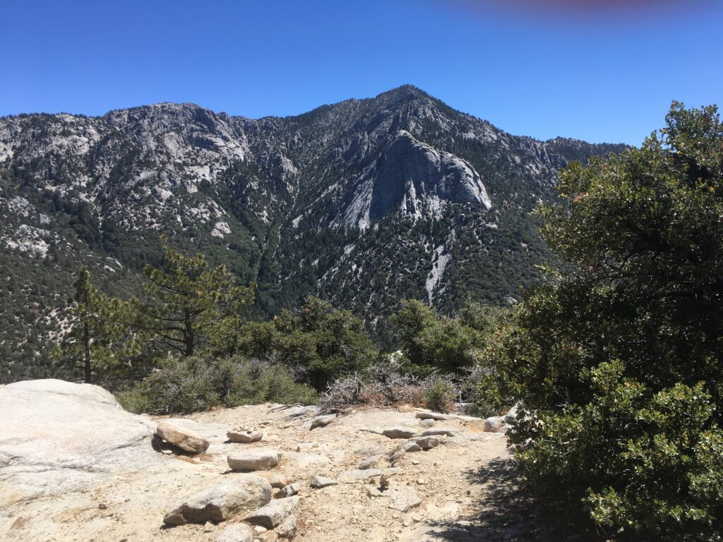 Mount San Jacinto mountain view