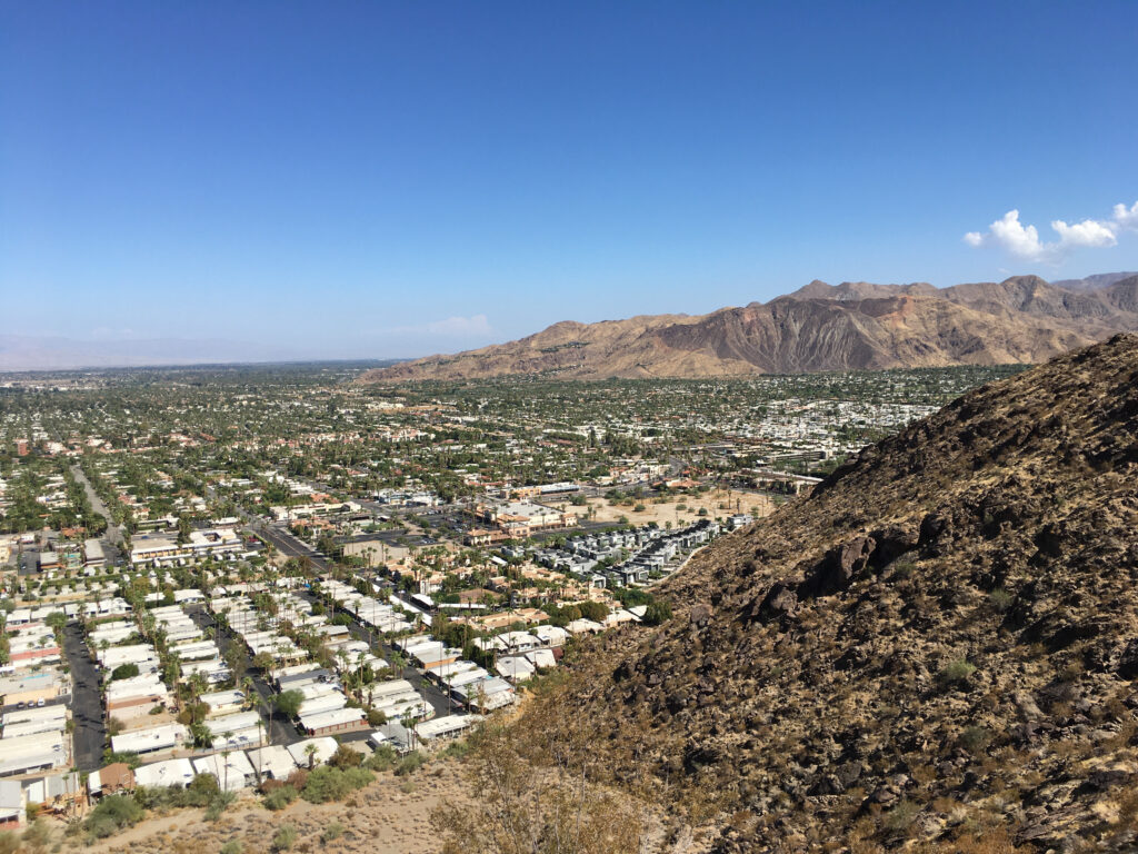 View of South Palm Springs Valley